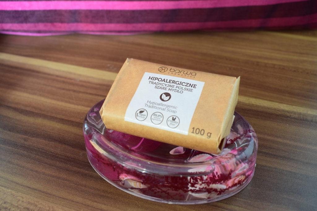 hipoalergiczne szare mydło polskie zapachowe