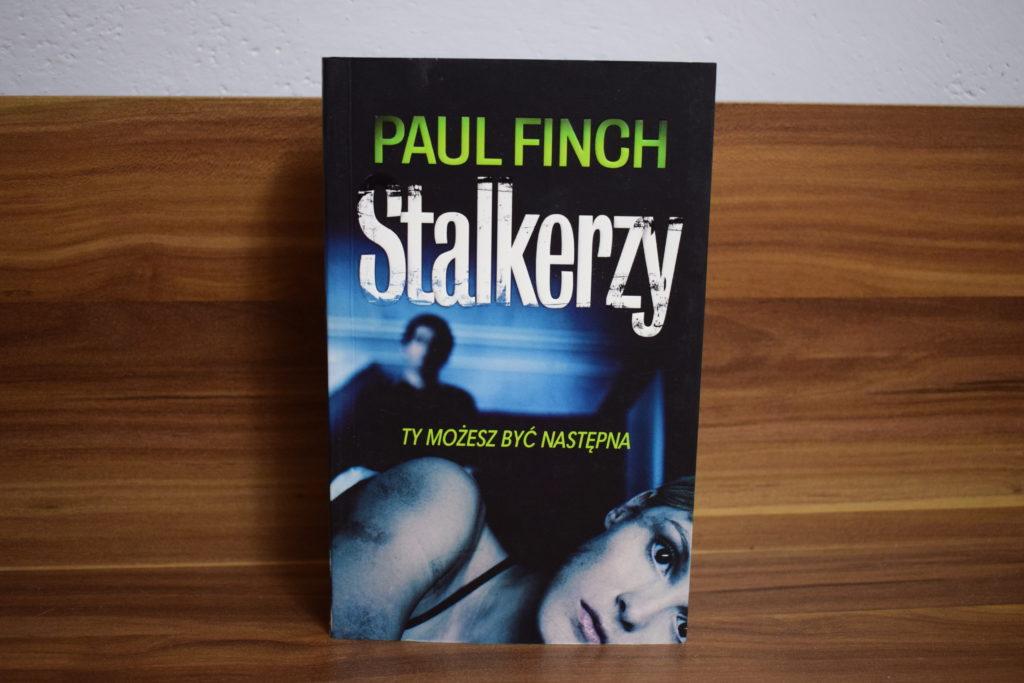 Finch Stalkerzy opinia recenzja blog książki