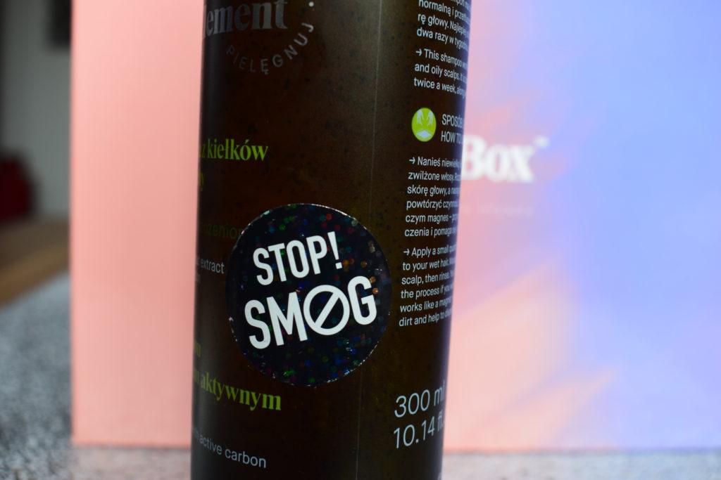 Szampon z węglem aktywnym stop smog!