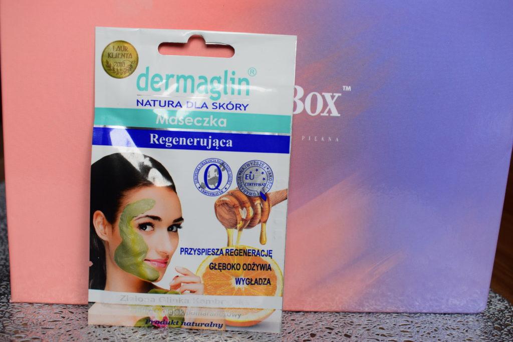 Dermaglin maseczka regenerująca do twarzy recenzja
