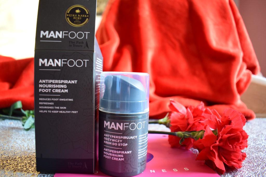 ManFoot antyperspirujący krem do stóp