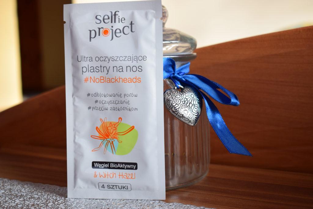 selfie projekt plastry na nos