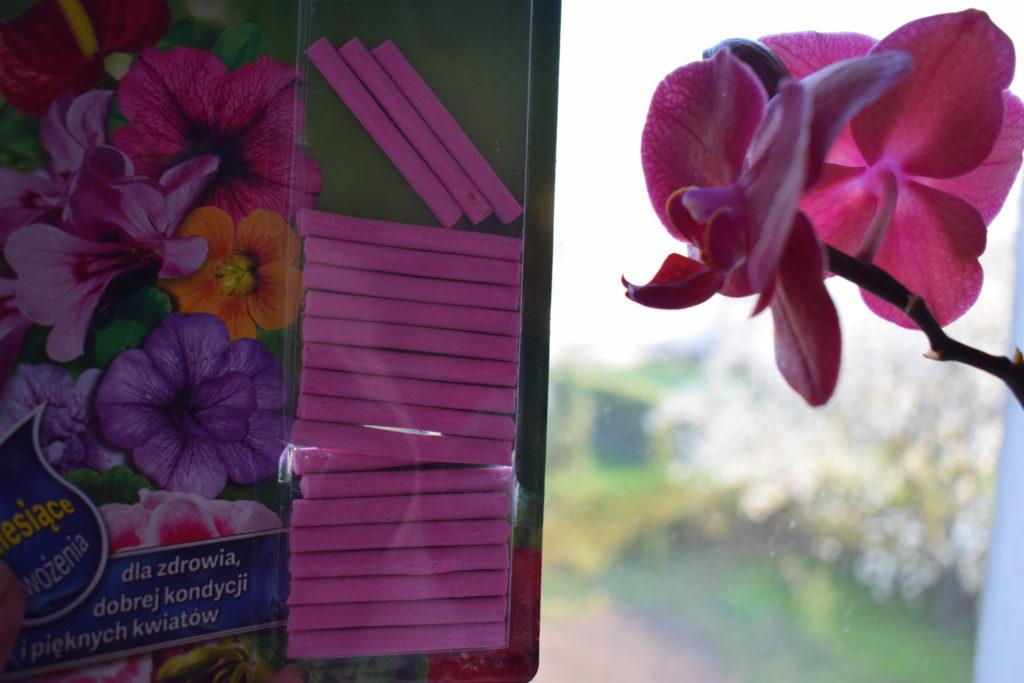 pałeczki nawozowe do kwiatów