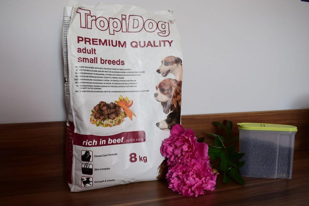 karma tropidog opinie dla małych psów