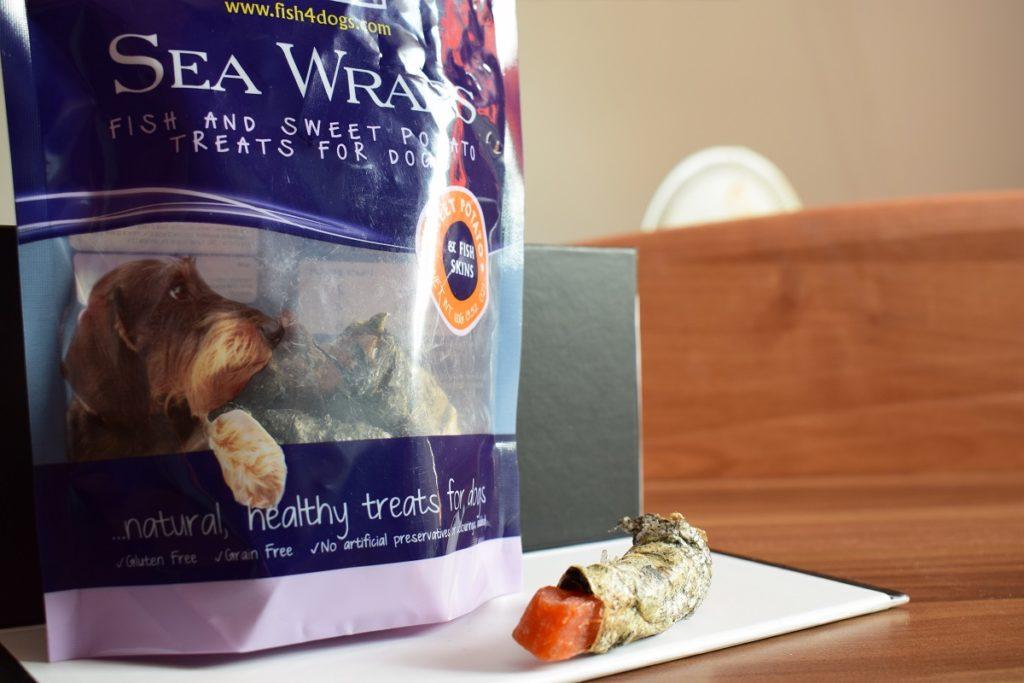 sea wraps przekąski dla psów