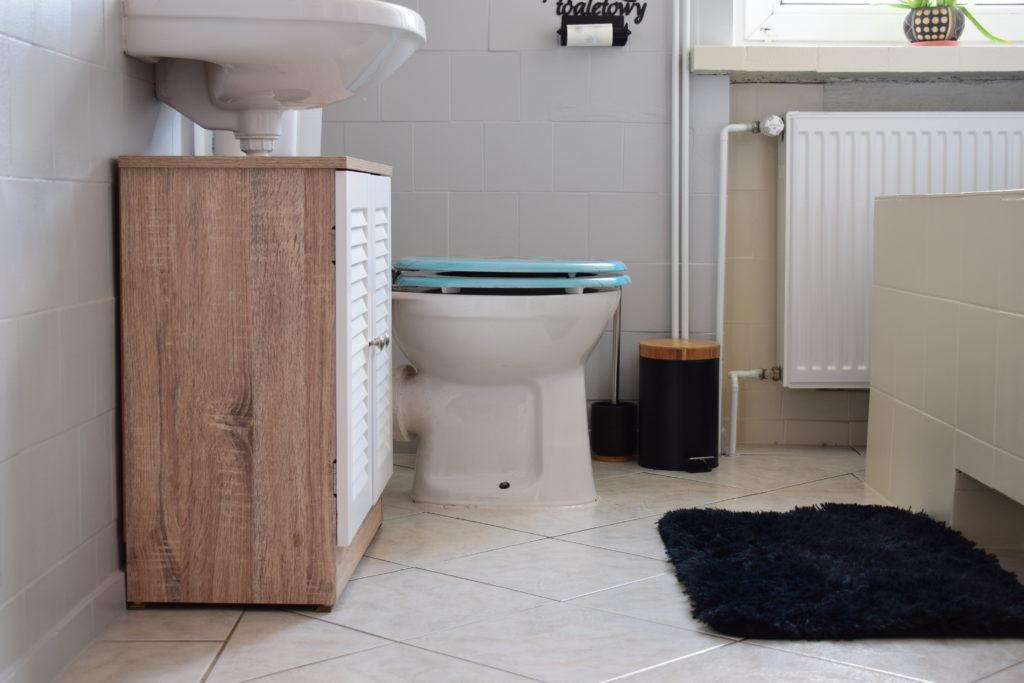 łazienka szybka metamorfoza