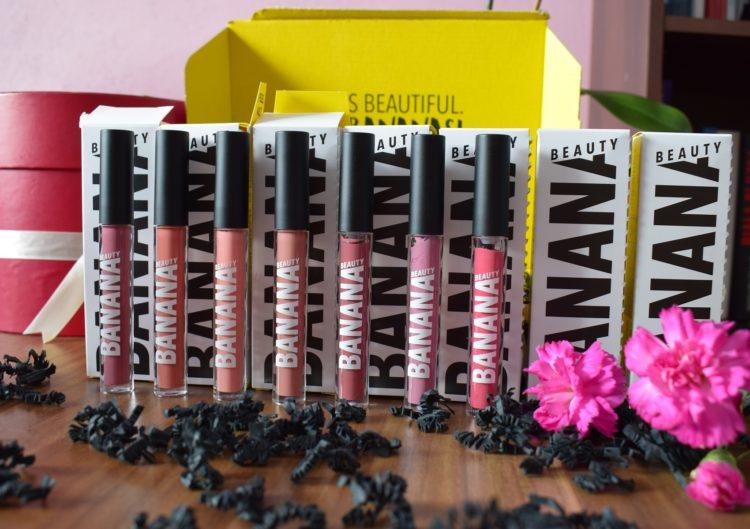 Pomadki Banana Beauty Półmatowa Kolekcja
